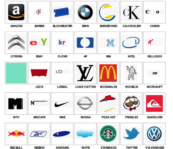 Logo Quiz Questions And Answers Printable